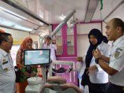 Rail clinic PT KAI Tanjungkarang di Stasiun Blambangan Umpu, Rabu, 21 Agusus 2019.