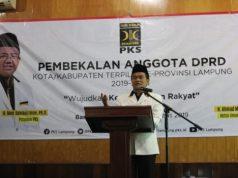 Ketua DPW PKS Lampung, Ustaz Ahmad Mufti Salim