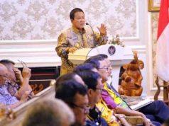 Gubernur Arinal Djunaidi saat memimpin Rapat Teknis Pembahasan KPB bersama semua pemangku kepentingan (stakeholder) terkait, di Ruang Rapat Utama Kantor Gubernur Provinsi Lampung Kamis ( 8/8/2019).