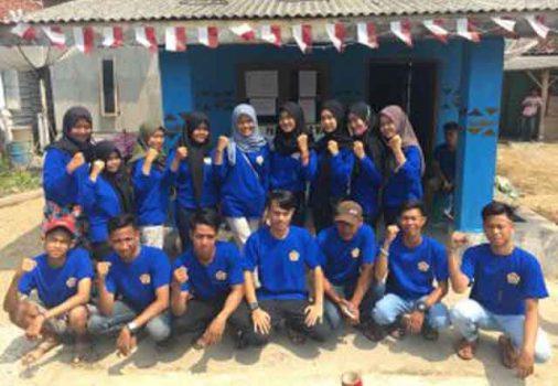 Anggota Karang Taruna Desa Paya, Padangcermin, Pesawaran.