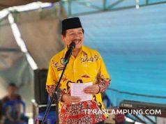 Walikota Herman HN mengukuhkan Kelompok Pengolah dan Pemasar Udang (Poklahsar), Kelurahan Pesawahan, Gudang Agen Kecamatan Telukbetung Selatan..