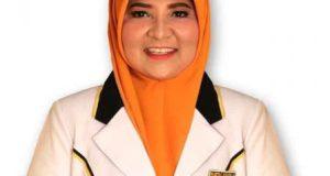 Anggota DPR-RI dari Dapil Sumatera Barat II, Hj. Nevi Zuairina