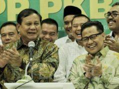 Prabowo bertemu Cak Imin di Kantor DPP PKB, Senin malam (14/10/2019). Foto: joglosemarnews.com