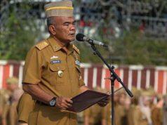 Asisten Bidang Pemerintahan dan Kesra Pemprov Lampung ,Irwan Shihar Marpaung
