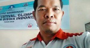 Sekretaris KONI Lampung Utara, Sutri Wiyono