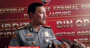 Kabid Humas Polda Lampung, Kombes Pol Zahwani Pandra Arsyad. Foto: Teraslampung.com/Mas Alina Arifin