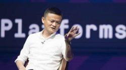 Pendiri Alibaba Jack Ma saat menjadi pembicara di sela-sela Pertemuan Tahunan IMF - World Bank Group 2018 di Bali Nusa Dua Convention Center, Nusa Dua, Bali, Jumat (12/10/2018). - ANTARA