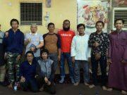 Para mahasiswa asal Lampung yang sedang kuliah di Sudan. Mereka berharap Pemerintah Provinsi Lampung peduli terhadap nasib mereka yang saat ini harus melakukan karantina mandiri karena negara Sudan memberlakukan lockdown sejak pertengahan April 2020 lalu. Foto: Istimewa