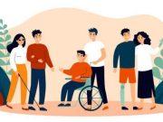 Ilustrasi penyandang disabilitas.(SHUTTERSTOCK/BRO.VECTOR)