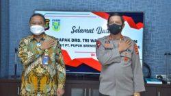 PT Pusri Berikan Bantuan 15,8 Ton Oksigen untuk RSU Abdul Moeloek dan RS Urip Sumohardjo