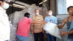Perpanjangan PPKM, 57.908 KPM di Lampura Terima Bantuan Beras