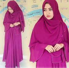Hijab Khimar Cantik