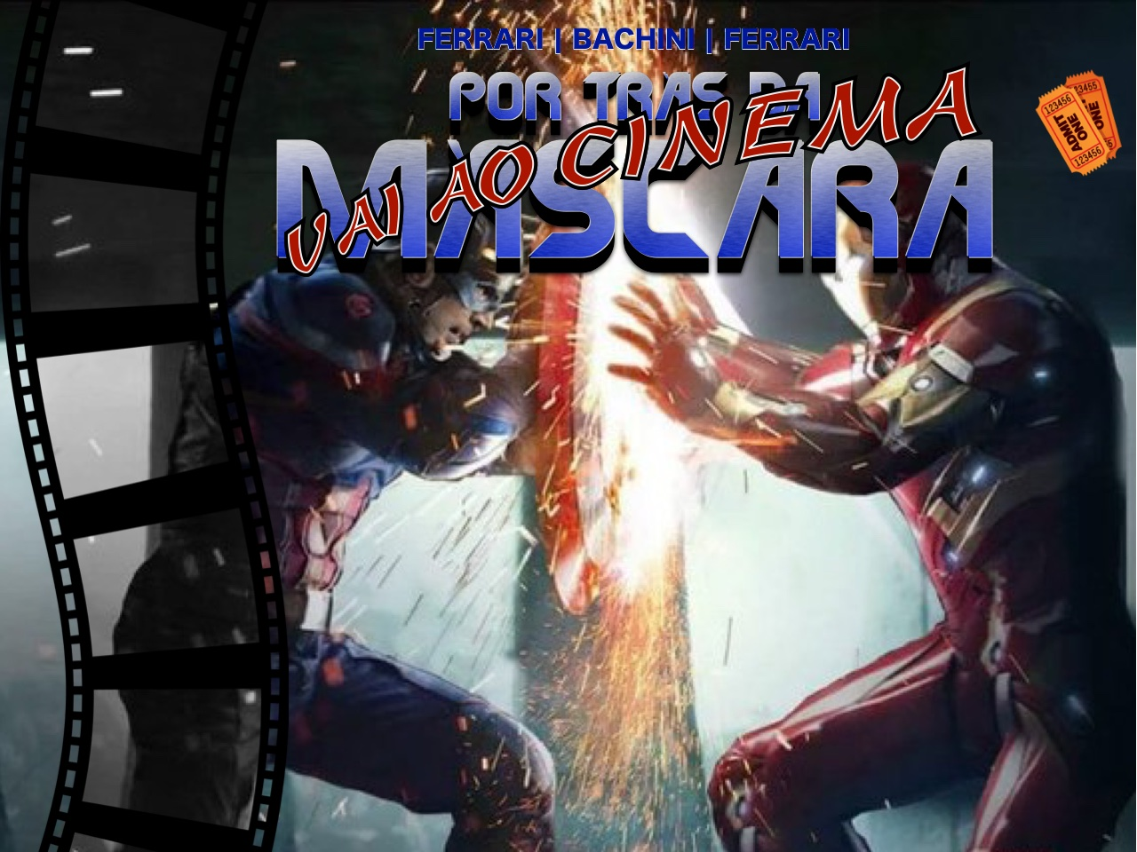 Por trás da Máscara vai ao Cinema: Civil War