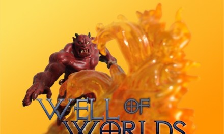 Well of Worlds: o fogo aprisionado