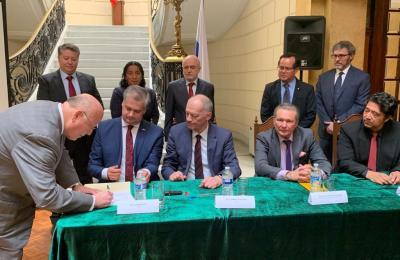 Firma la UAS convenio de colaboración con el Joint Institute for Nuclear Research