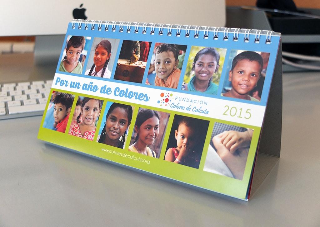 Calendario 2015 - Fundación Colores de Calcuta