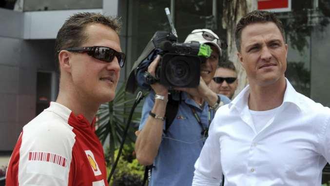Irmão mantém segredo sobre estado de saúde de Michael Schumacher
