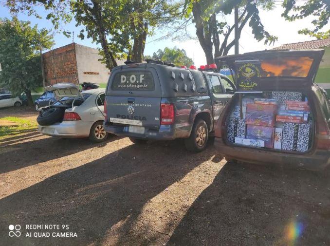 Operação Hórus: Veículos carregados com produtos ilegais foram apreendidos pelo DOF