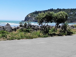 Scarborough Hill, Sumner, Promenade, Christchurch, New Zealand
