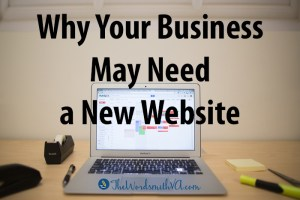 Why Your Business May Need a New Website