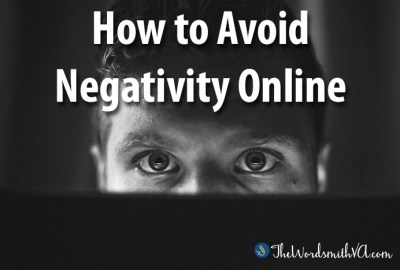 How to Avoid Negativity Online