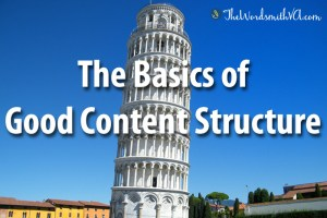 The Basics of Good Content Structure