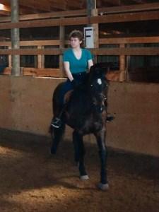 echo under saddle