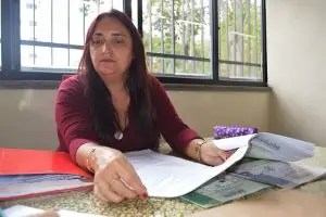 Jackeline Barros, coordenadora da Comissão Julgadora Municipal, frisa que a participação dos alunos na Olimpíada é um estímulo à leitura e à escrita.