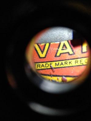 Variac lettering