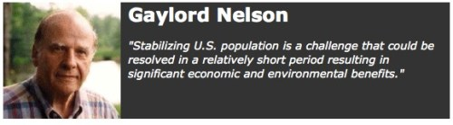 Gaylord Nelson, founder of Earth Day