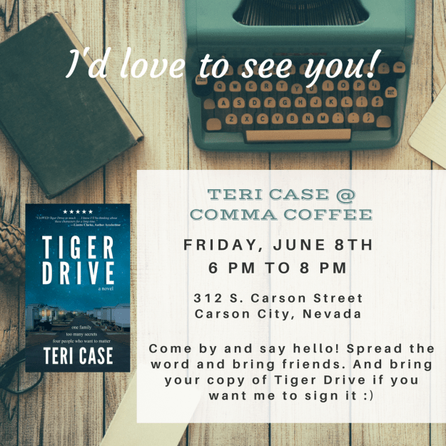 Teri Case Author Event Carson City June 8