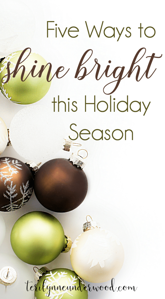 5 ways to shine bright this holiday season