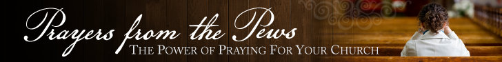 Prayers from the Pews Banner www.TeriLynneUnderwood.com