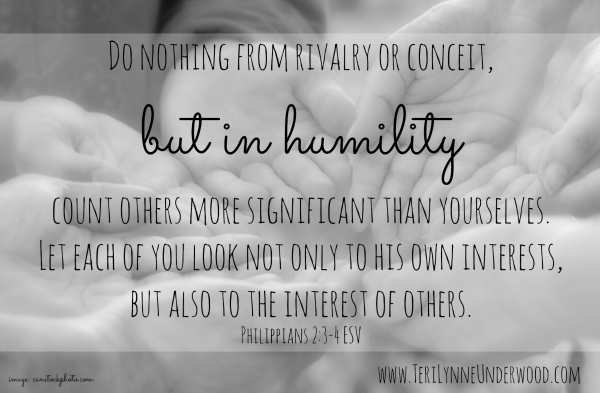 but in humility www.terilynneunderwood.com