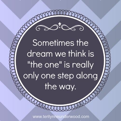 on dreams and seasons of life www.terilynneunderwood.com/blog