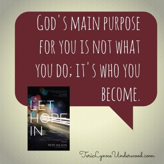 book review of Pete Wilson's Let Hope In || TeriLynneUnderwood.com