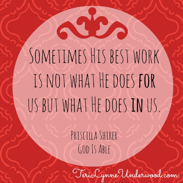 God Is Able by Priscilla Shirer || Review by Teri Lynne Underwood