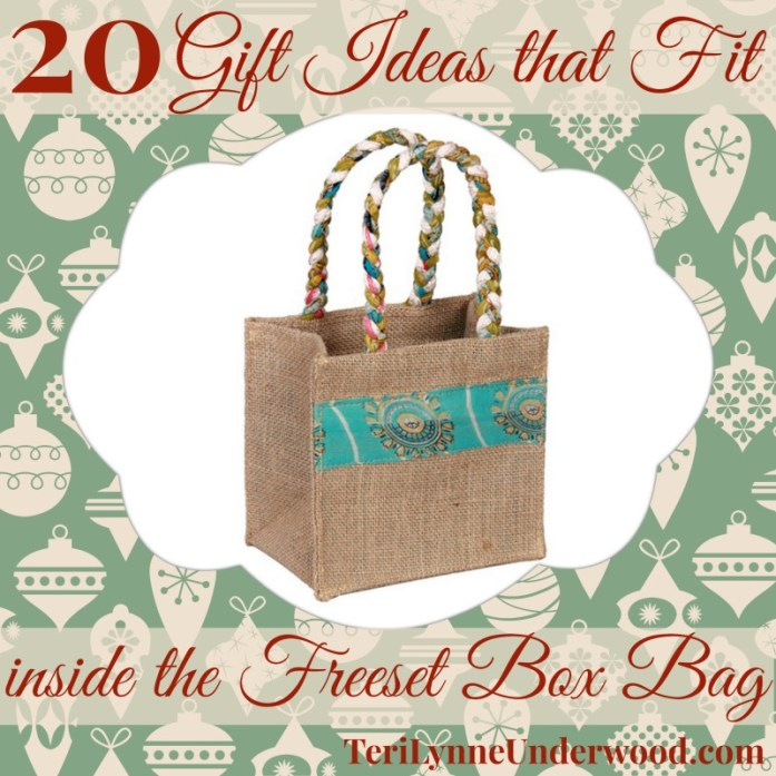 20 gift ideas for freeset box bag || TeriLynneUnderwood.com
