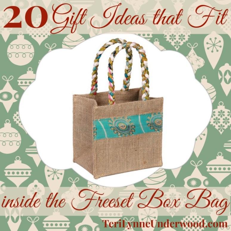 20 gift ideas for freeset box bag || TeriLynneUnderwood.com