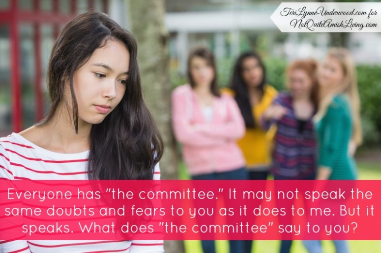 """What does """"the committee"""" say to you?"""