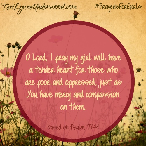 #PrayersforGirls based on Psalm 72:4