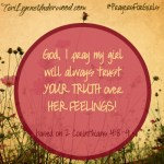 #PrayersforGirls based on 2 Corinthians 4:8-9 || TeriLynneUnderwood.com