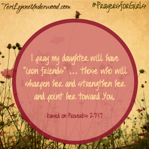 #PrayersforGirls Proverbs 27:17