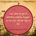 #PrayersforGirls based on Revelation 22:20 ... TeriLynneUnderwood.com