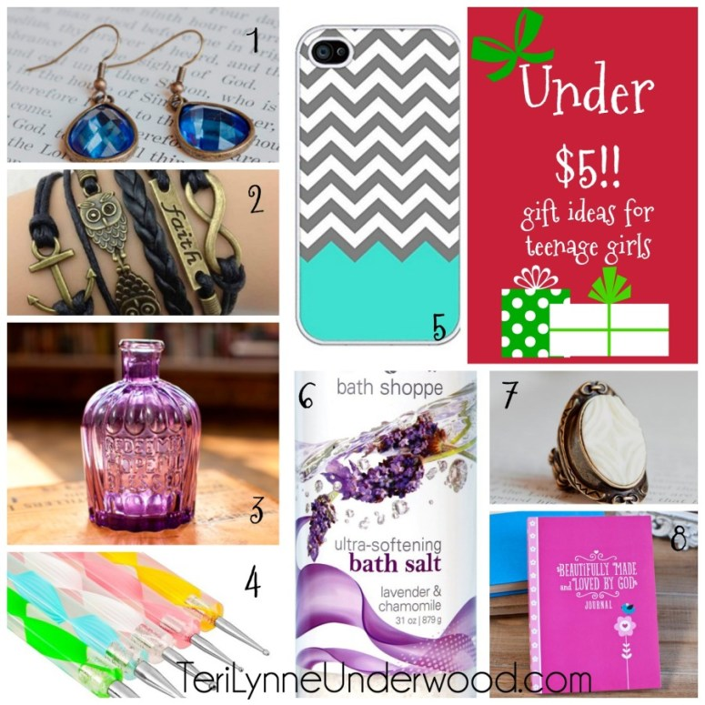 gift ideas for teenage girls under $5