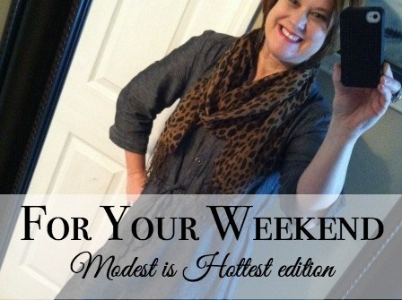 modest is hottest {fashion over 40}