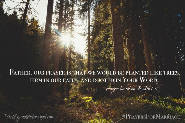 31 Verses to Pray for Your Marriage || Psalm 1:1-3
