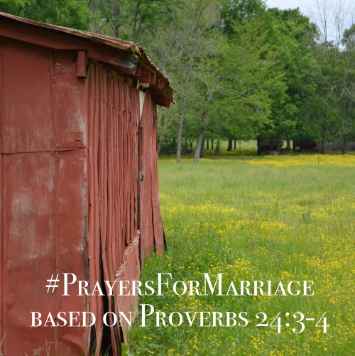 31 Verses to Pray for Your Marriage || Proverbs 24:3-4