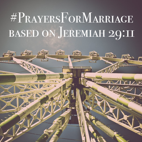 31 Verses to Pray for Your Marriage || Jeremiah 29:11