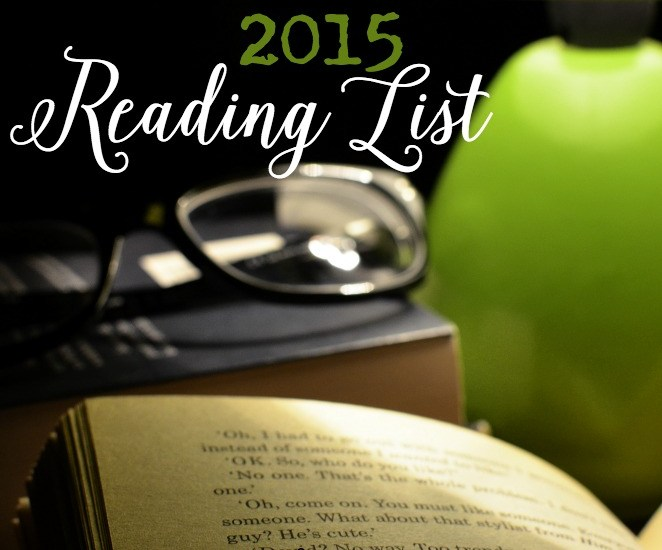 2015 Reading List || TeriLynneUnderwood.com